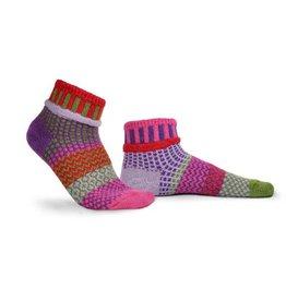 Solmate Solmate Adult Ankle Socks Hyacinth Large