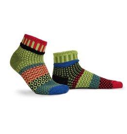 Solmate Solmate Adult Ankle Socks Snapdragon L