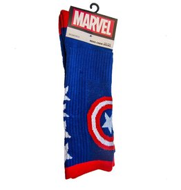Marvel Captain America Performance Crew Sock