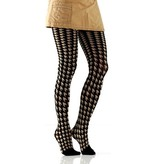 women's houndstooth tights