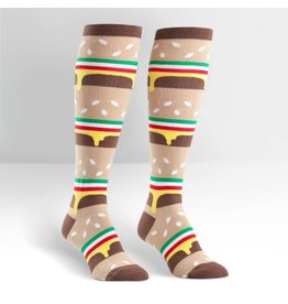 Sock it to Me SITM Women's Double Double Cheeseburger Socks