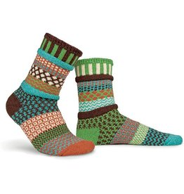 Solmate Solmate Adult Crew Socks September Sun Small