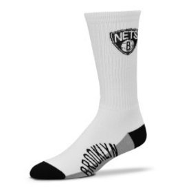 NBA Mens NBA Team Socks Brooklyn Nets LG