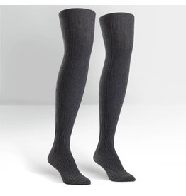 Sock it to Me SITM OTK Grey Cable Socks