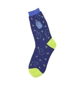 Foot Traffic Womens Fireflies Socks