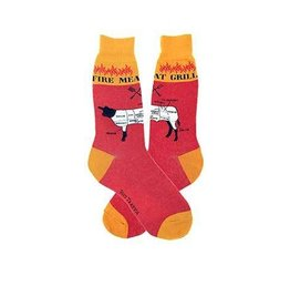 Foot Traffic Mens Grilling Socks