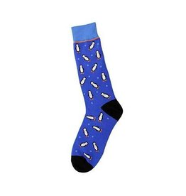 Foot Traffic Mens Penguin Socks