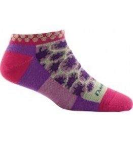Darn Tough Womens Merino Wool Waterlily No Show Berry