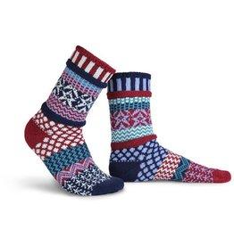 Solmate Solmate Adult Crew Socks Stars and Stripes M