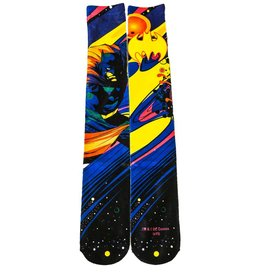 DC Batman Black Light Sublimated Crew Socks
