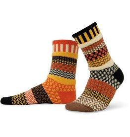 Solmate Solmate Adult Crew Socks Scarecrow Medium