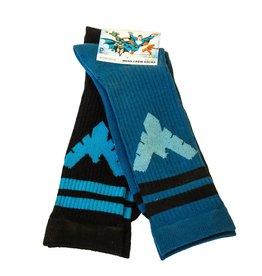 DC Nightwing Crew Socks 2 Pair Pack