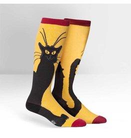 Sock it to Me SITM Women's Stretch-It Chat Noir Socks