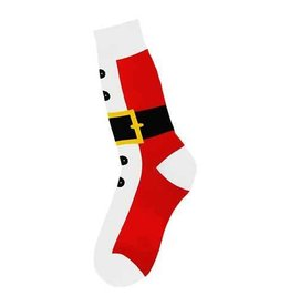 Foot Traffic Men's Santa Suit Socks