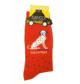 Davco Dapper Dalmatian Socks High Alert