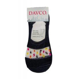 Davco Black Colorful Dot Liner