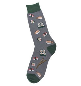Foot Traffic Mens Sushi Socks