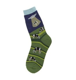 Foot Traffic Mens Alien Abduction Socks