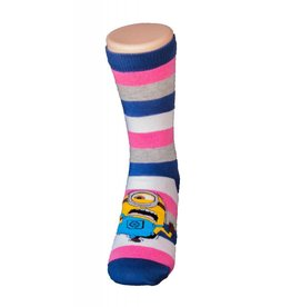 Universal Despicable Me Womens 9-11 Crew Karate Minion 3/$10
