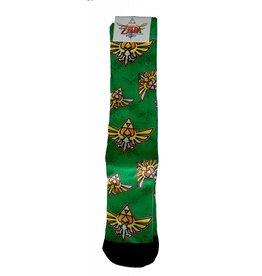 Nintendo Zelda Crest Sublimated Crew Socks