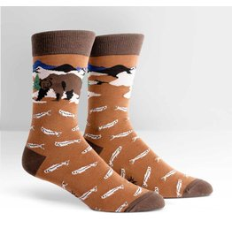 Sock it to Me SITM Men's Bear Necessities Socks