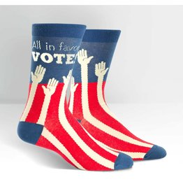 Sock it to Me SITM Men's Sock the Vote Socks
