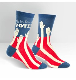 Sock it to Me SITM Womens Sock the Vote Socks