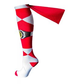 Power Rangers Red Ranger Cape Knee High Socks