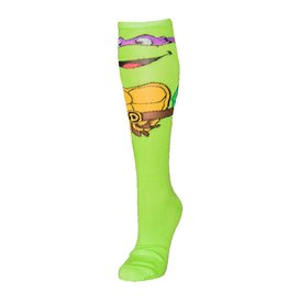 Teenage Mutant Ninja Turtles Donatello Knee High Socks With Mask