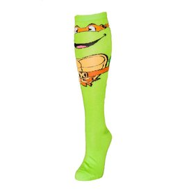 Teenage Mutant Ninja Turtles Michelangelo Knee High Socks With Mask