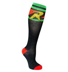 DC Robin Athletic Knee High Socks