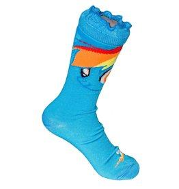 My Little Pony My Little Pony Dash Crew Sock Light Blue Face