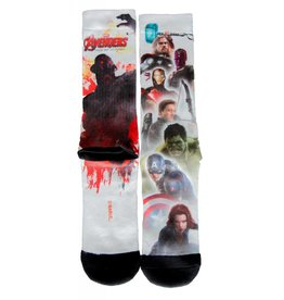 Marvel The Avengers Sublimated Crew Socks