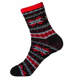 Davco Women's Snow Fairisle Slipper Socks