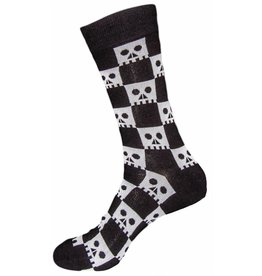 Sock it to Me SITM Men's Check Your Skull Socks