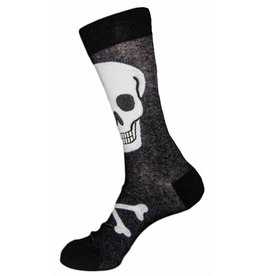 Foot Traffic Mens Skull Socks