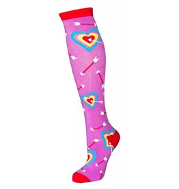 Sock it to Me SITM Women's Cupid Bullseye Socks