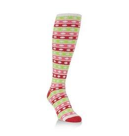 Women's Over The Calf Snowball Socks