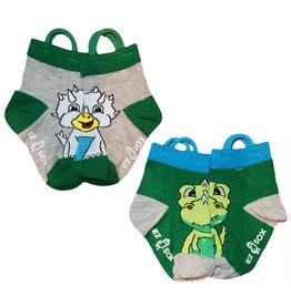 Kids EZ Sox 2 Pair Pack Dinosaurs Socks