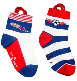Kids EZ Sox 2 Pair Pack Soccer & Football Socks