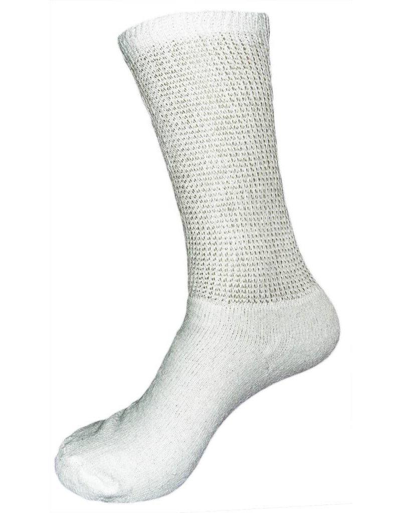 Creswell Sock Mills Mens Diabetic Loose Fit Crew Socks 3-Pack