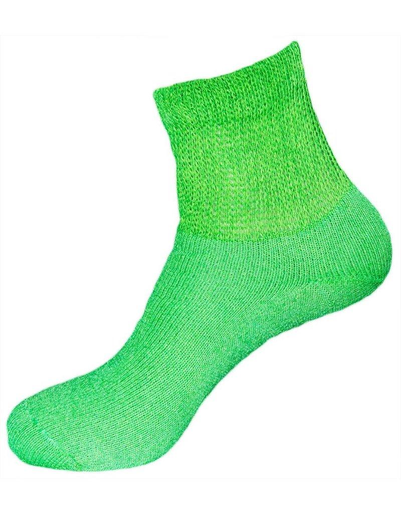 Dr. Allay Women's Diabetic Quarter Top Socks - Solid Color