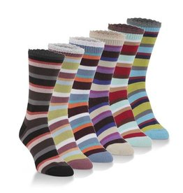 World's Softest Socks Women's Jazz Crew Socks