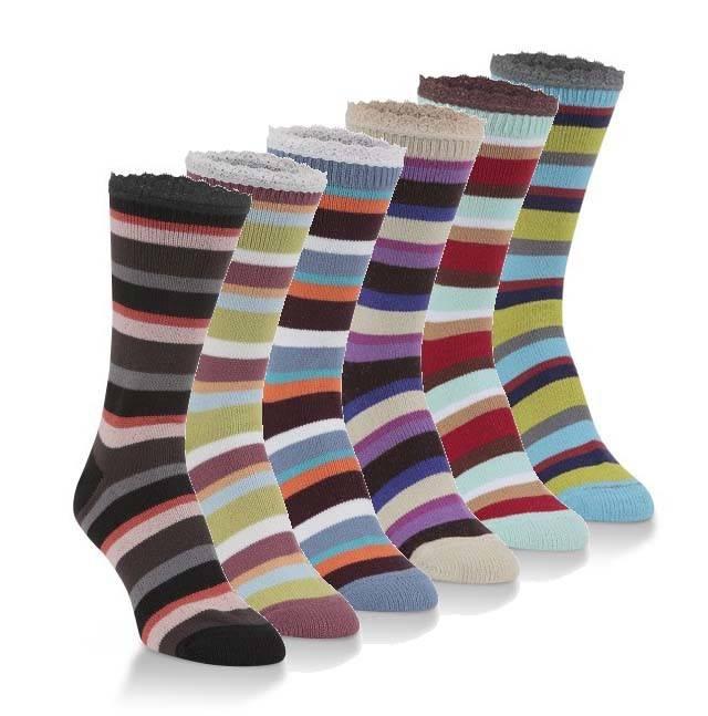 World's Softest Socks Women's Jazz Crew Socks - Worlds Softest