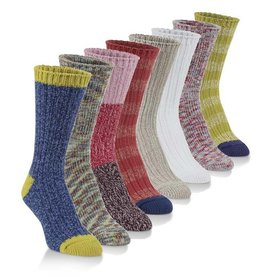 World's Softest Socks Women's Ragg Crew Socks