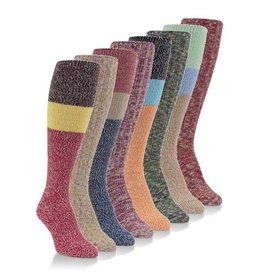 World's Softest Socks Women's Ragg Knee High Socks