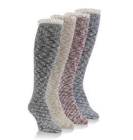 World's Softest Socks Women's Slub Knee High Socks