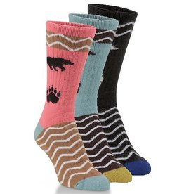 World's Softest Socks Women's National Park Bear Socks