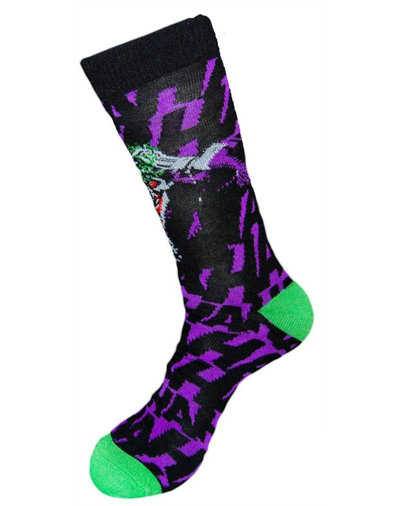 DC Joker Crew Socks | DC Comics Socks