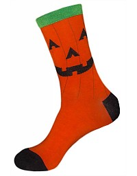 womens pumpkin socks for halloween